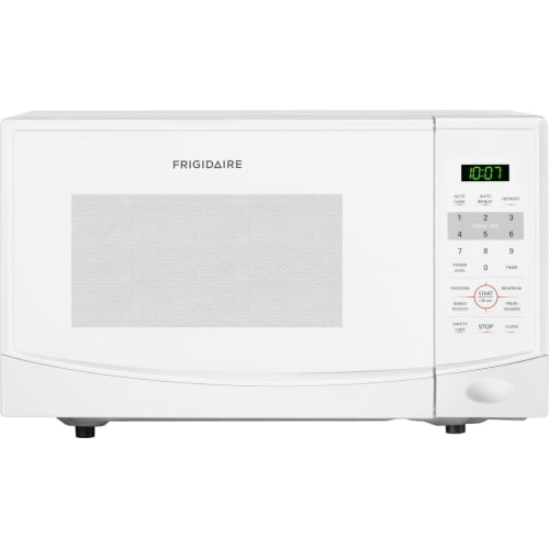 Frigidaire 0.9 Cu Ft 900W Countertop Microwave Oven, White by Frigidaire
