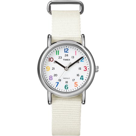 Timex Womens White Weekender Casual Watch