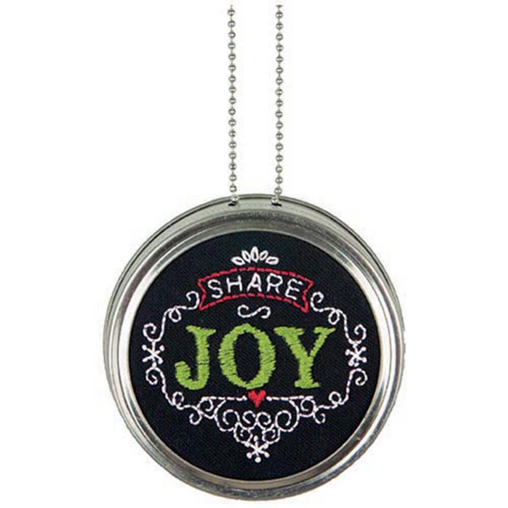 Dimensions Share Joy Embroidery Kit