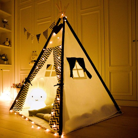 Multi-styles Kids Castle Teepees Pet Tent Bed Huge Play Tent Princess Palace Playhouse Sleeping Dome Children Girls Playing, Birthday Gift Cottage Bed Tent