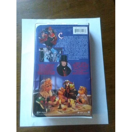 Muppet Christmas Carol VHS Walt Disney Pictures Jim Henson/ Collectable ()