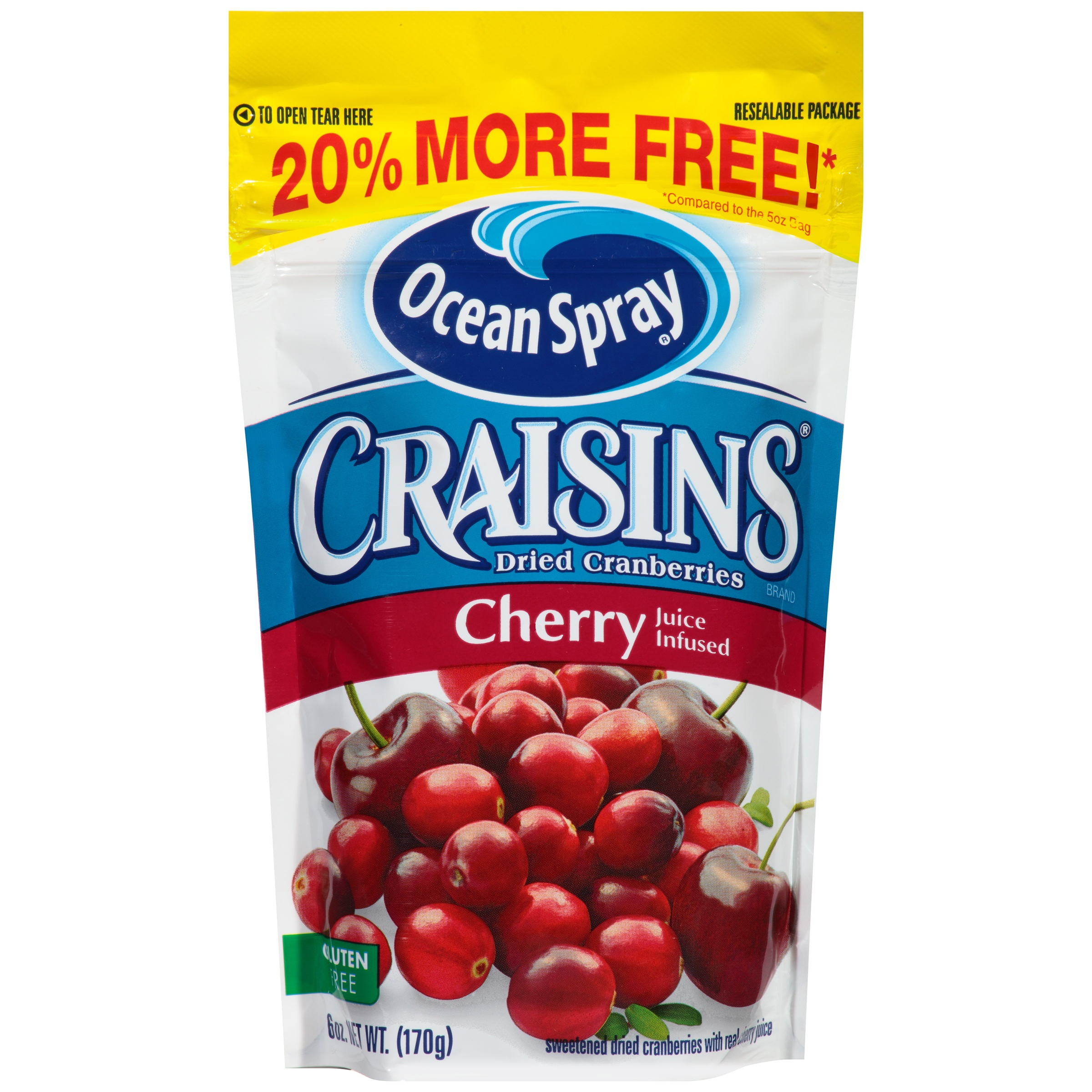 Ocean Spray Craisins Cherry 5 Oz by Ocean Spray Cranberries, Inc.