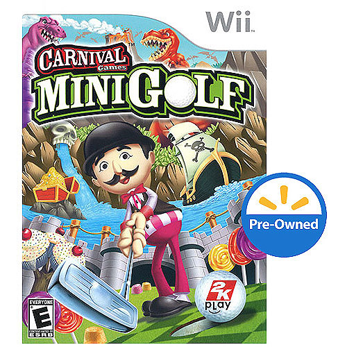 Image of Carnival Games-Mini-Golf (Wii) - Pre-Owned
