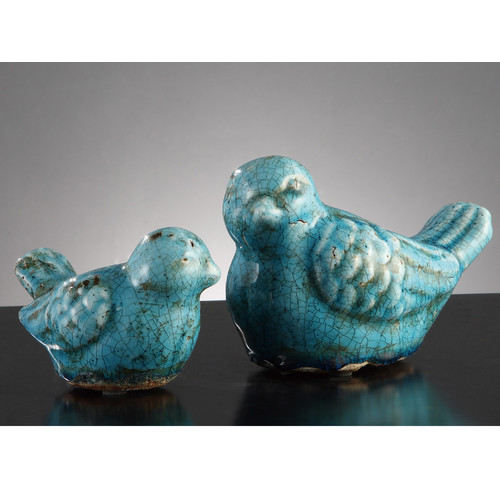 Crestview Collection Warbler Statue (Set of 2)