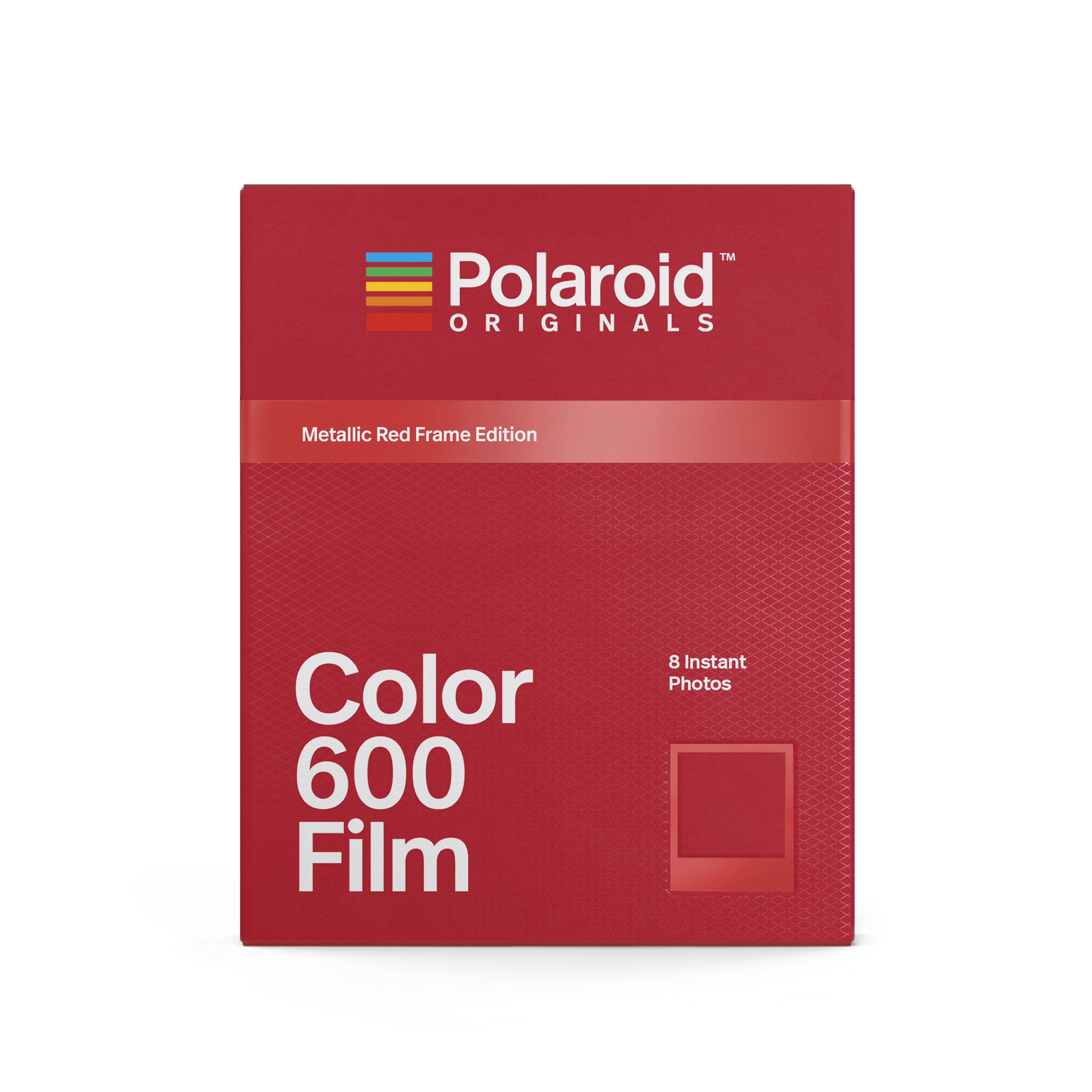 Polaroid Originals Color Film for 600-Metallic Red Frame Edition