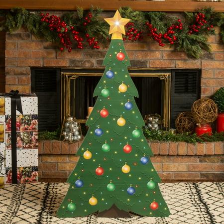 small christmas tree standee - Small Christmas Trees Walmart