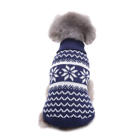 Mosunx® Christmas Snowflake Pet Dog Puppy Warm Sweater Jumpsuit Clothes Outwear - Christmas Dog