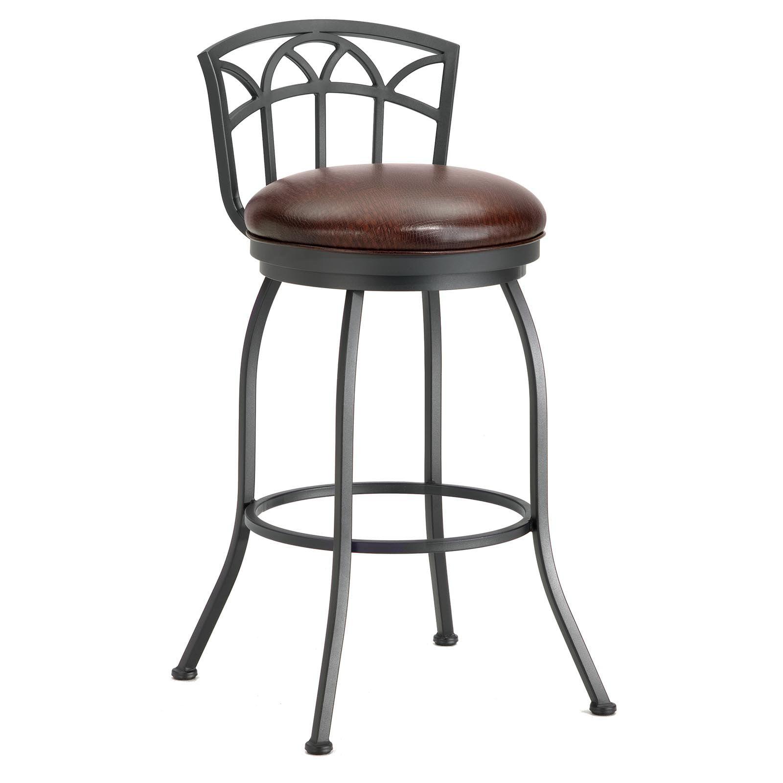 Barrington home fiesole low back bar stool walmart com