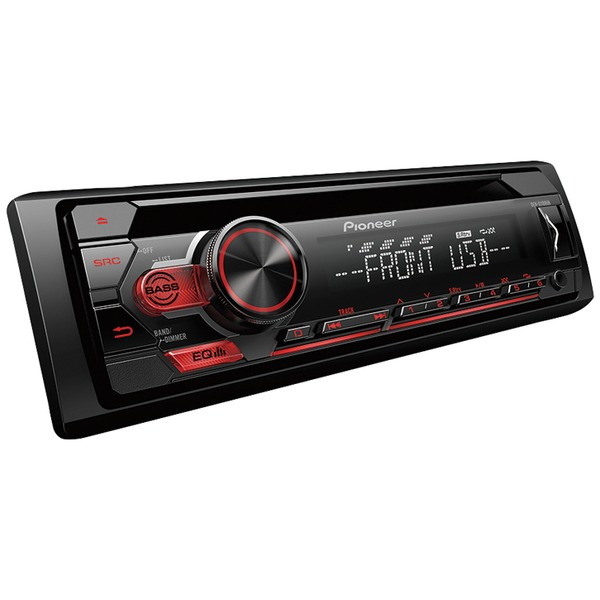 Pioneer DEH-S1100UB Single DIN Car CD Player