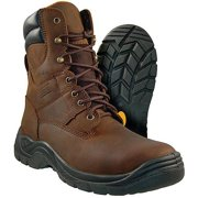 Authority 8 Round Toe Leather Work Boot