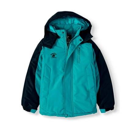 Beverly Hills Polo Club Polar Fleece Lined Parka Coat (Little Girls & Big Girls) Polo Girls Hoodie Jacket