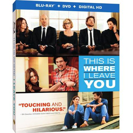 This Is Where I Leave You  Blu Ray   Dvd   Digital Hd With Ultraviolet