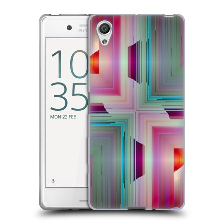 OFFICIAL HAROULITA ABSTRACT PATTERNS SOFT GEL CASE FOR SONY PHONES 1