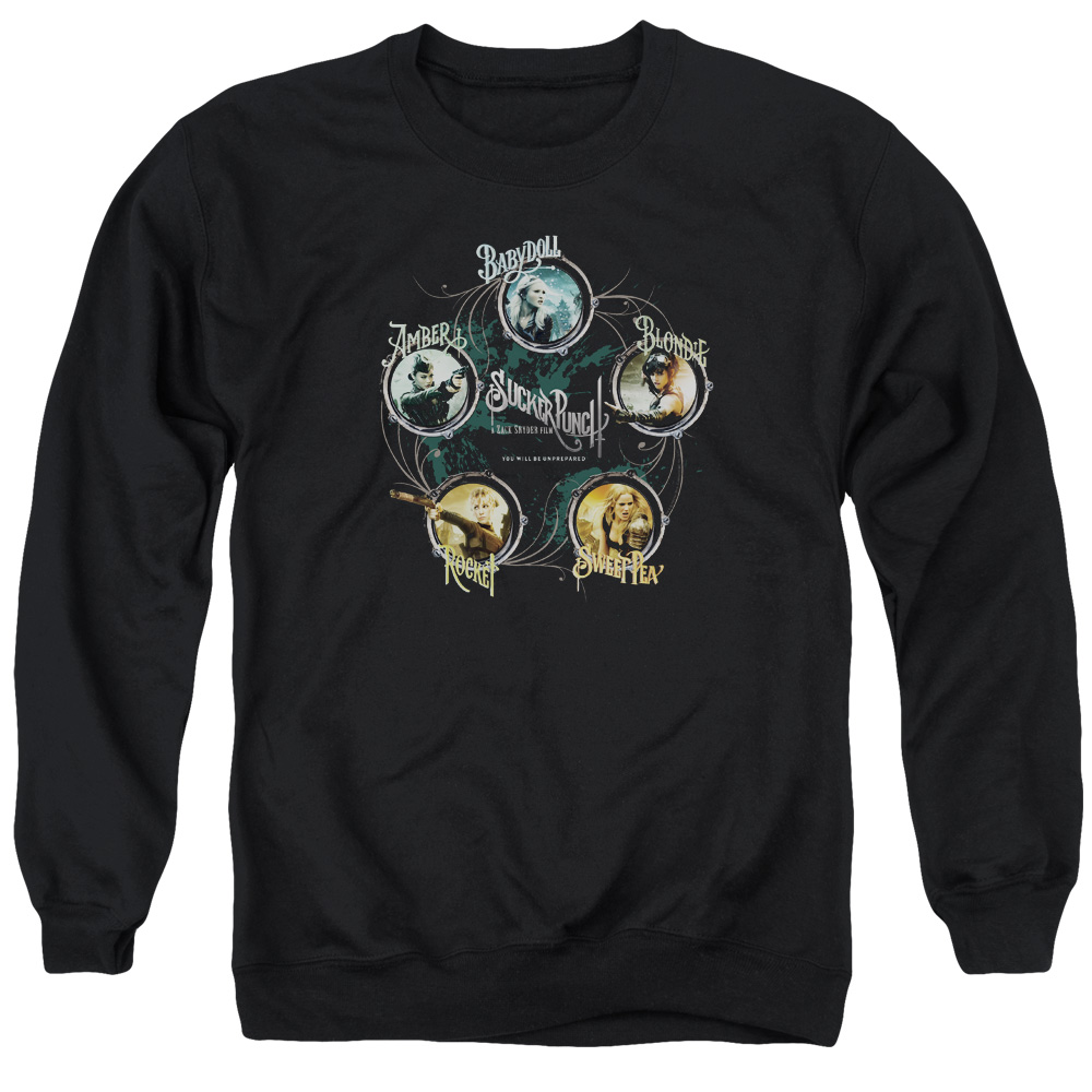 Sucker Punch Circles Mens Crewneck Sweatshirt