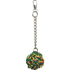 Multi Pet Nuts for Knots Bird Toy Multi-Colored