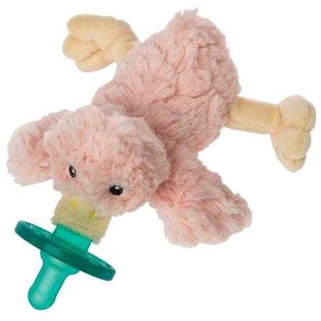 Mary Meyer WubbaNub Infant Newborn Baby Soothie Pacifier ~ Blush Putty Duck