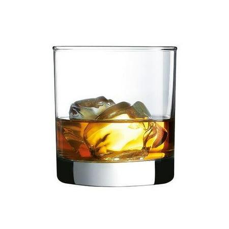 Luminarc Barcraft Straight Sided Rocks Set of 4 Drinkware Glasses - 10.5 oz