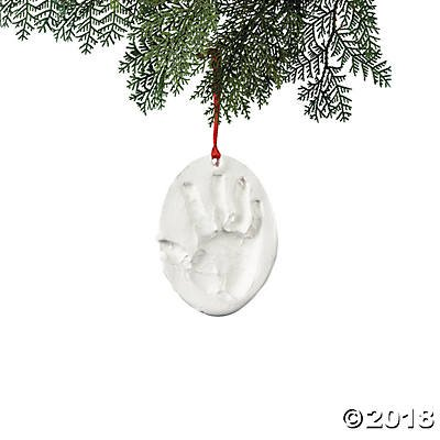 Christmas Ornament Handprint Craft Kit(pack of 2)