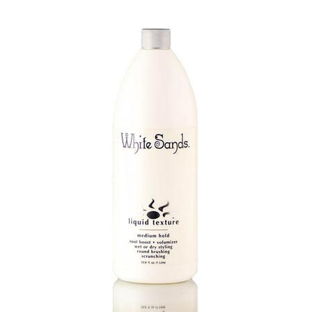 White Sands Liquid Texture - Medium Hold (Size : 33.8 oz / liter refill)