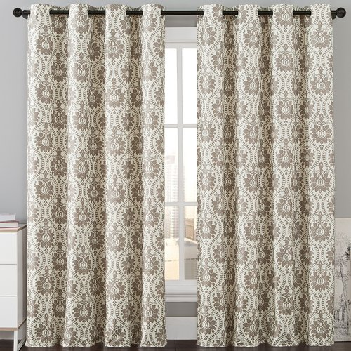Luxury Home Konya Thermal Blackout Single Curtain Panel