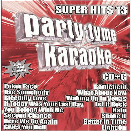 Party Tyme Karaoke: Super Hits 13
