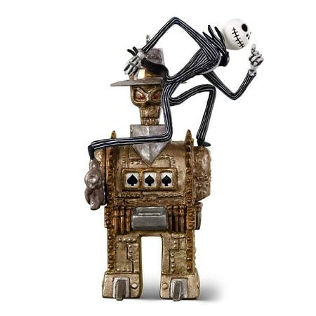 Hallmark Tim Burton's The Nightmare Before Christmas Jack vs. The One-Armed Bandit Metal Ornament Movies & TV ()