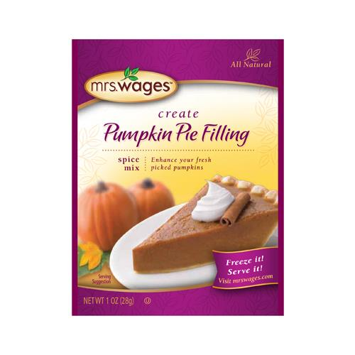 Kent Precision Foods Group W805-J8425 Pumpkin Pie Filling, 1-oz.