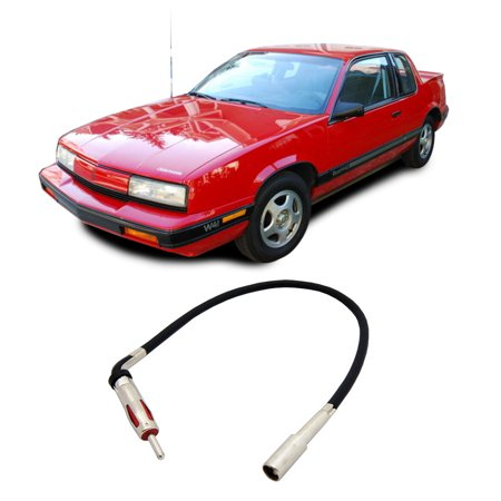 Oldsmobile Cutlass Calais 1988-1991 Factory Stereo to Aftermarket Radio Antenna