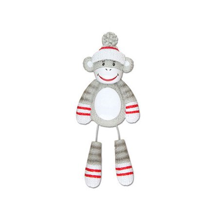 Sock Monkey Personalized Christmas Ornament DO-IT-YOURSELF