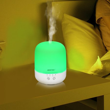 Diffuser Bestek 300 Ml Essential Oil Diffuser Ultrasonic Cool Aroma Diffuser Air Purifier With