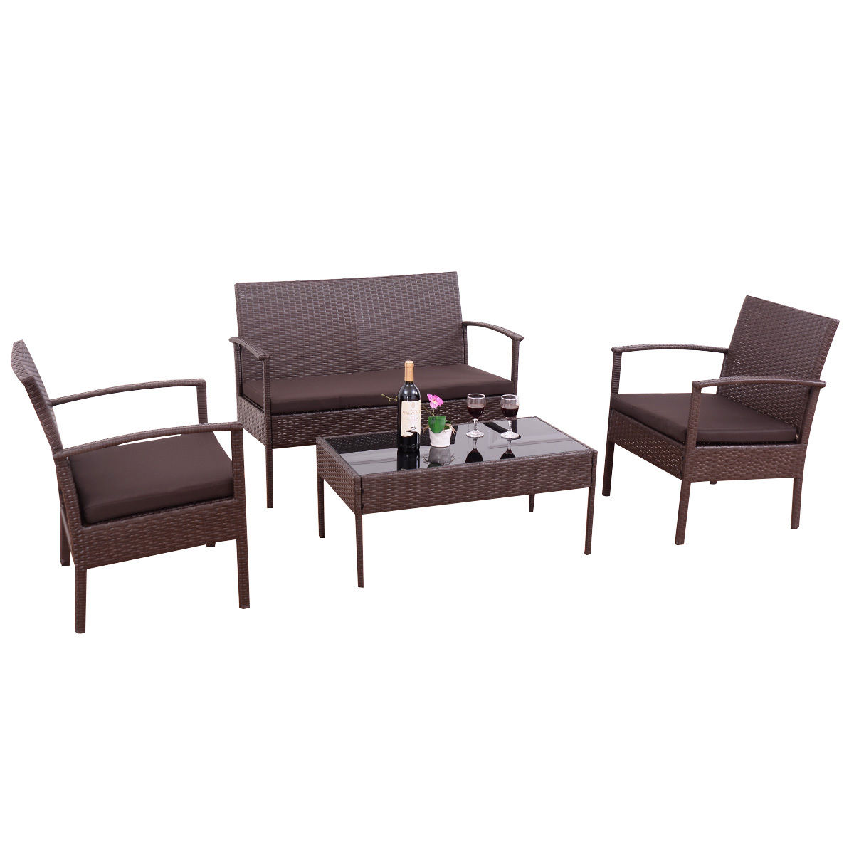 Best patio furniture sets clearance lawn small coaster sofa wicker garden yard