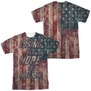 Fight Club - Losing Hope (Front/Back Print) - Short Sleeve Shirt - Large