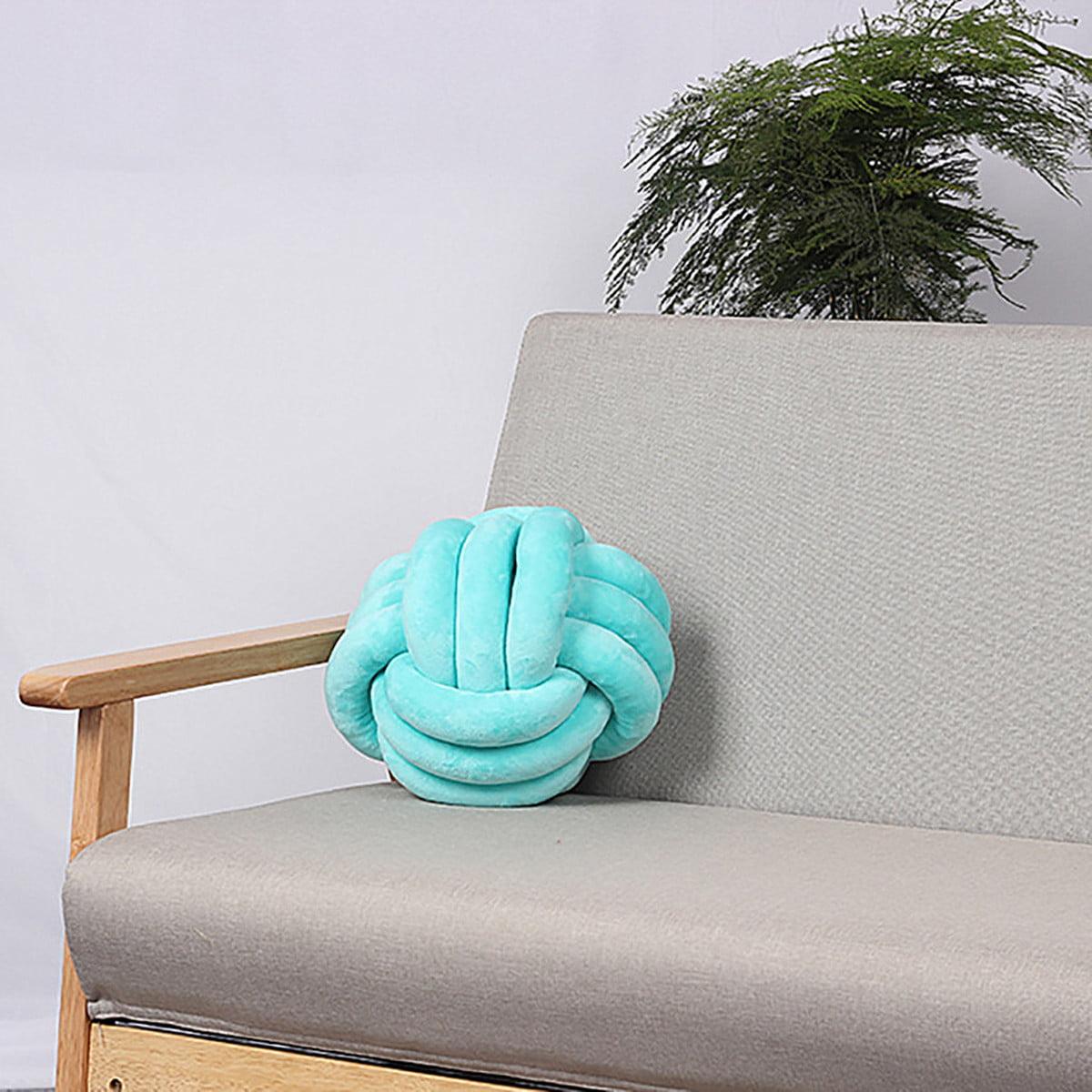 10 12 Soft Knot Pillow Sofa Cushion Round Ball Plush Pillow Home Car Decor Walmart Canada