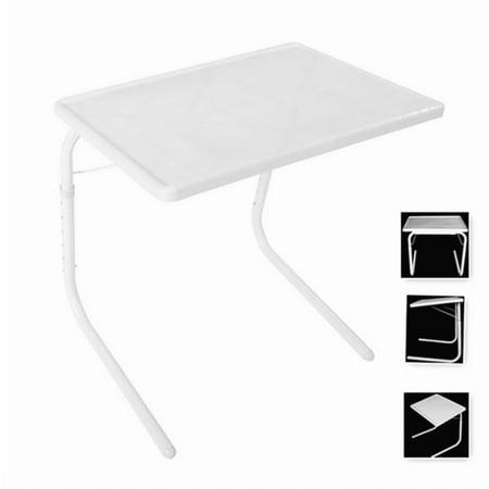 Ubesgoo Foldable Table White Original Bed Folding Tv Tray