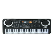 61 Keys Black Digital Music Electronic Keyboard KeyBoard Electric Piano Kids Gift Musical Instrument