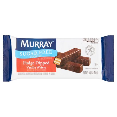 Murray Cookies  Sugar Free Fudge Dipped Vanilla Wafers  5 5Oz