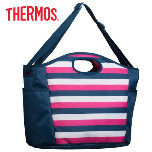 Thermos Raya 24-Can Insulated Large Cooler Tote Bag With Shoulder Strap Grocery Lunch Beach Portable Soft