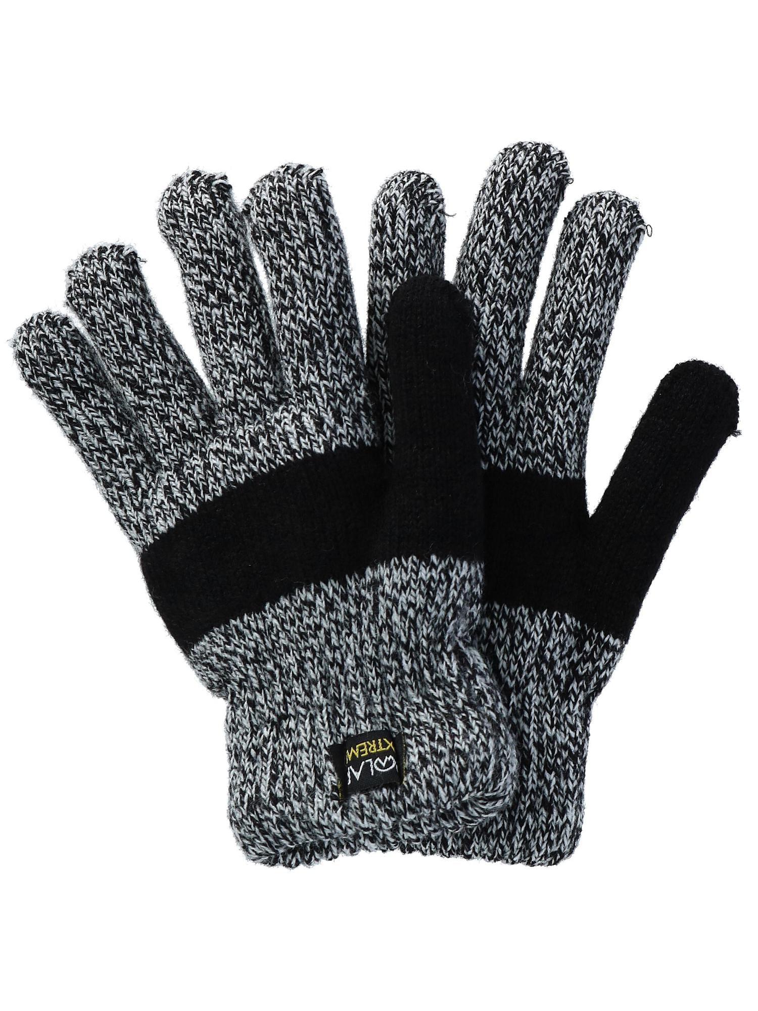 Women/'s Men/'s Knitted Gloves Winter Crochet Touch Screen Gloves Iphone Samsung