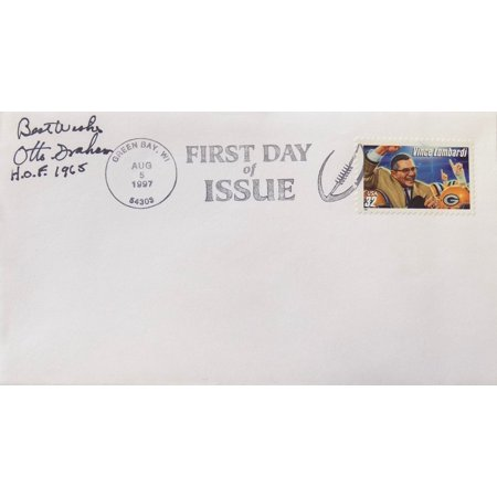 Otto Graham Cleveland Browns Auto First Day Cover
