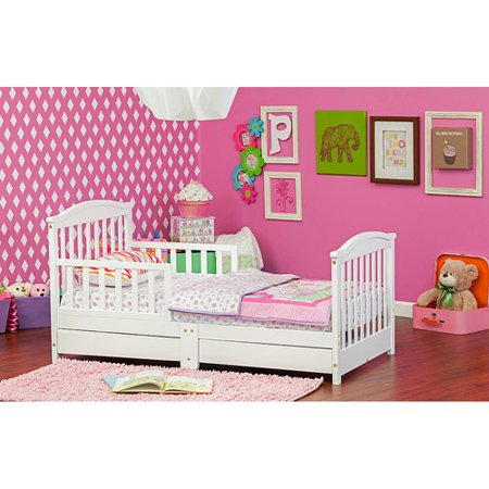 Dream On Me Mission Toddler Bed With Storage