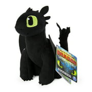 DreamWorks Dragons, Toothless 8-inch Premium Plush Dragon, for Kids Aged and up