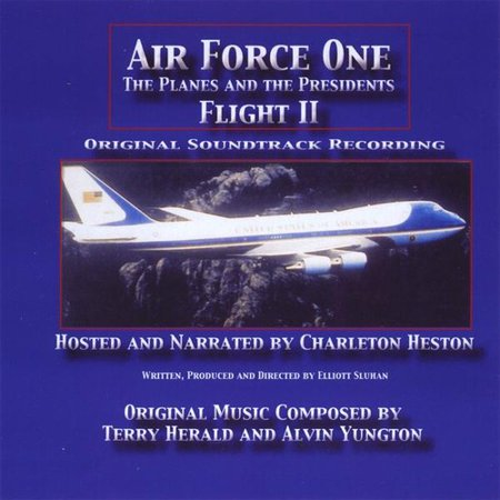 Terry Herald   Air Force One  The Planes And The Presidents   Flight Ii  Original Sountrack Recording   Cd