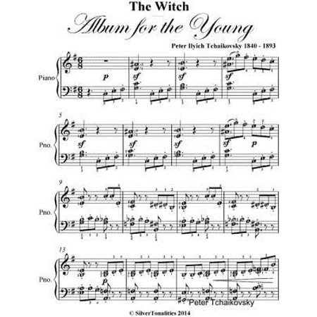 The Witch Album for the Young Elementary Piano Sheet Music - eBook