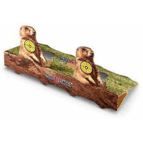 Woodys Fold-N-Shoot Four 6 Prairie Dog Target
