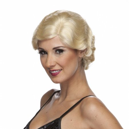 Characters Roaring 20s Synthetic Wig - - 20s Wig
