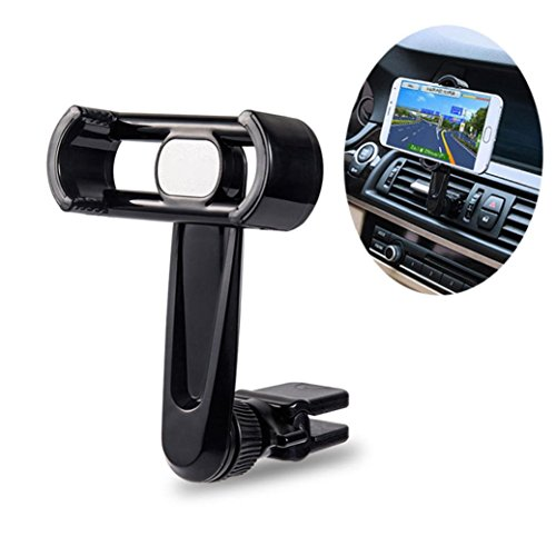 Universal Car Phone Holder Air Vent Mount Stand Cradle for Smartphone GPS Navigation