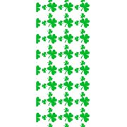 Make N Mold 5900SH Large Shamrock Treat Bags with Twist Ties- pack of 12
