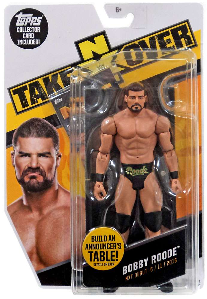 WWE Wrestling NXT Takeover Bobby Roode Action Figure by