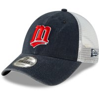 Minnesota Twins New Era 1987 Cooperstown Collection Trucker 9FORTY Adjustable Snapback Hat - Navy - OSFA