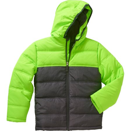 459323110111 Faded Glory - Boys Bubble Jacket
